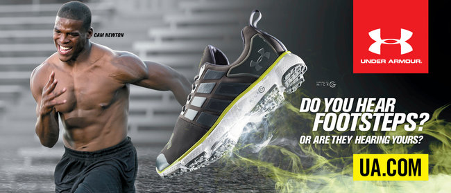 under armour shoe ad