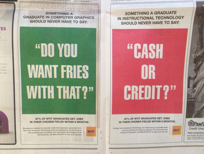 NYIT ads